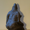 sculpture femme monstre pierre rocher
